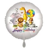 Zootiere Luftballon zum 3. Geburtstag