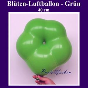 Blüten-Luftballon in Pastellfarbe Grün