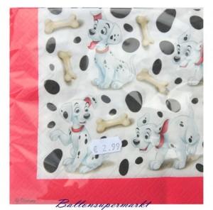 Servietten Kindergeburtstag, Dalmatiner