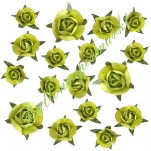Dekorosen-Konfetti, hellgrün zur Hochzeit, Kommunion und Taufe
