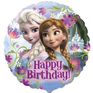 Frozen Geburtstags- Luftballon aus Folie