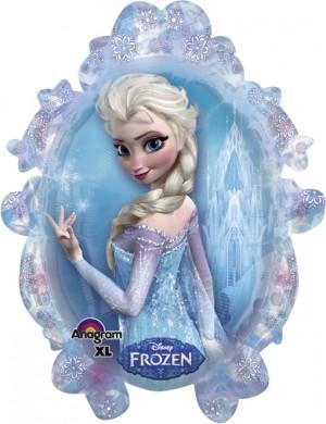 Folienballon Frozen Princess Shape