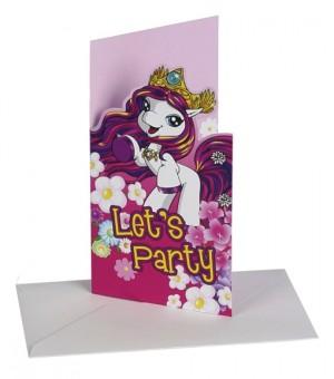 Fairy Filly Einladungskarten zum Kindergeburtstag