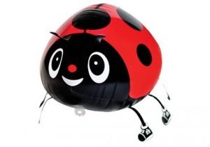 Luftballon Marienkäfer, ungefüllt