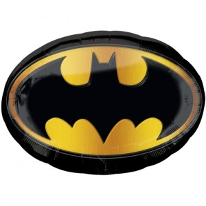 Bat-Signal, Batman Logo Luftballon aus Folie