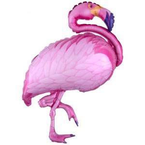 Flamingo Beach, Luftballon ohne Helium