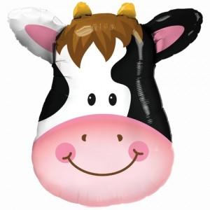 Luftballon freundliche Kuh ohne Ballongas