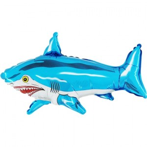 Folienballon Hai, ohne Helium