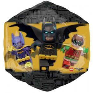 LEGO Batman Luftballon aus Folie inklusive Helium