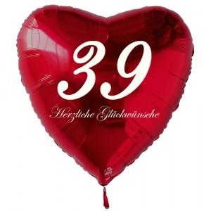 39 Geburtstag Luftballons Deko Partydekoration Zur