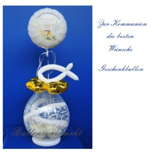 Geschenballon zur Kommunion