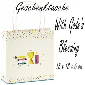 With God´s Blessing, Geschenktasche zu Konfirmation und Kommunion