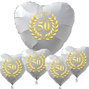 Dekoration Goldene Hochzeit Ballonsupermarkt Onlineshop De