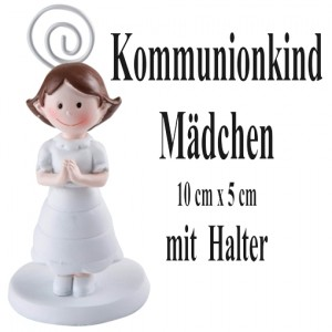Figur Kommunionkind, Maedchen
