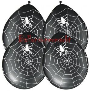 Luftballons Halloween, Spinnen zur Raumdekoration