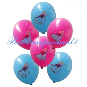 Luftballons aus Latex Eiskoenigin