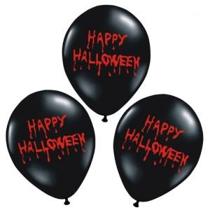 Luftballons Happy Halloween, Dekoration