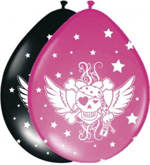 Luftballons Pirate Girl Latexballons