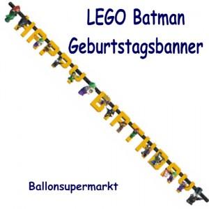 Kindergeburtstagsbanner LEGO Batman