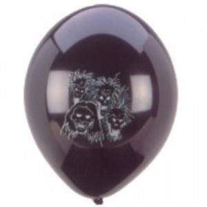 Luftballon Halloween Dark