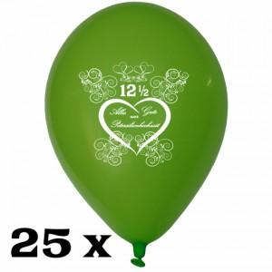 Luftballons zur Petersilienhochzeit, 25 Stück, 30 cm Latexballons