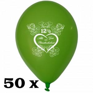 Luftballons zur Petersilienhochzeit, 50 Stück, 30 cm Latexballons