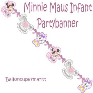Minnie Maus Infant Partybanner