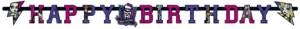Monster High Geburtstagsbanner zum Kindergeburstag