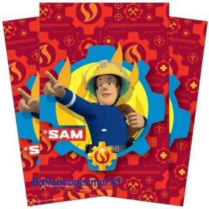 Party-Tüten Feuerwehrmann Sam zum Kindergeburtstag