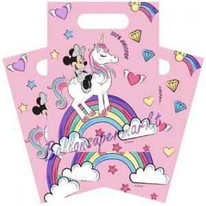 Party-Tüten Minnie Maus Einhorn zum Kindergeburtstag