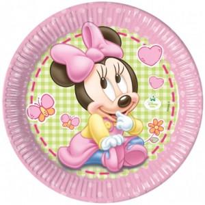 Baby Minnie Maus Partyteller