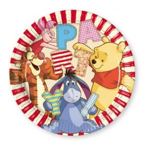 winnie the Pooh Partyteller zum Kindergeburtstag