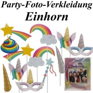 Party-Foto-Verkleidung Einhorn