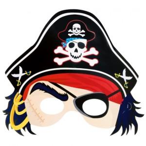 Party-Maske Piraten, Maske zum Kindergeburtstag