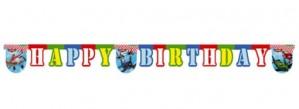 Planes Geburtstagsbanner zum Kindergeburstag