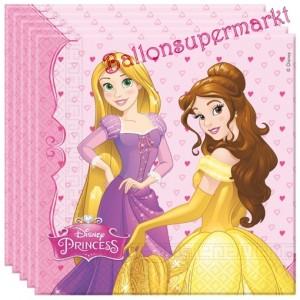 Party-Servietten, Disney Princess, Papierservietten Kindergeburtstag