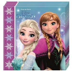 Party-Servietten, Frozen, Northern Lights, Papierservietten Kindergeburtstag