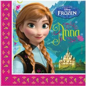 Party-Servietten, Frozen, Papierservietten Kindergeburtstag