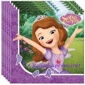 Sofia die Erste Sevietten zum Kindergeburtstag