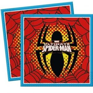 Servietten Spider-Man zum Kindergeburtstag