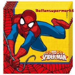Party-Servietten Ultimate Spider-Man zum Kindergeburtstag
