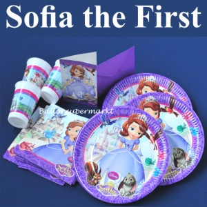 Sofia the first, Kindergeburtstag Party Set