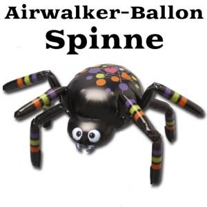Airwalker Luftballon, Spinne, mit Helium laufender Tier-Ballon