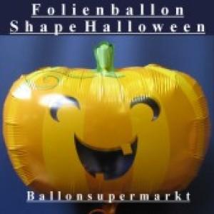 Kürbis, Folienballon Halloween Shape (heliumgefüllt)