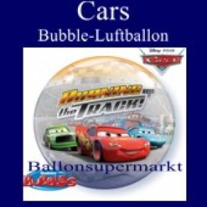 Cars, Bubble Luftballon (mit Helium)