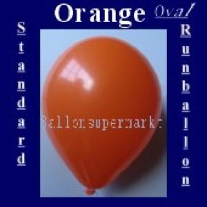 Luftballons Standard R-O 27 cm Orange 100 Stück
