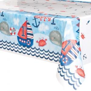 Tischdecke zum 1. Kindergeburtstag, Junge, 1st Birthday Nautical Pappbecher