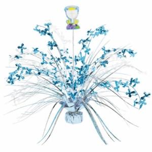 Kommunion, Tischdeko-Ständer, Festdekoration, blau