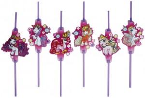 Fairy Filly Trinkhalme zum Kindergeburtstag