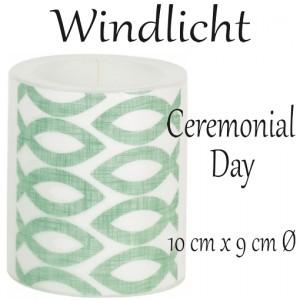 Windlicht Ceremonial Day zur Kommunion und Konfirmation